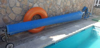 Enrollador de piscina para manta térmica