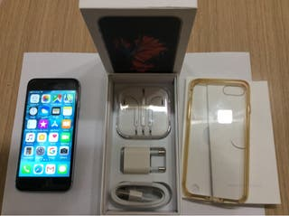 iPhone 6S gris con 128gb como nuevo con su caja.