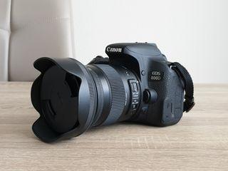 Canon 800D + Sigma 17-70 2.8 + Mochila EOS