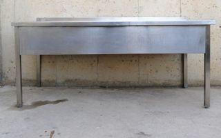 Pica amb potes 180cm / Fregadera con patas 180cm