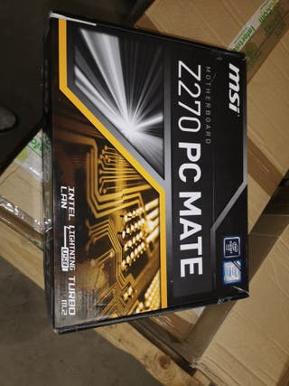 placa base msi z270 pc mate nueva