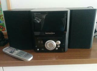 MiniCadena Reproductor DVD mp3 TV con pantalla