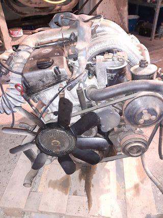 motor de Mercedes w124
