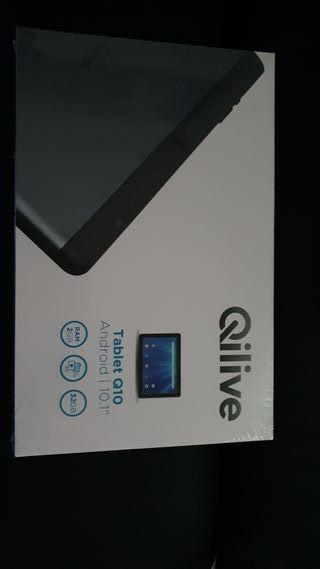 """Tablet de 25,65 cm (10,1"""") QILIVE Q10 negro, Quad-"""