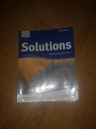 Libro de inglés solutions