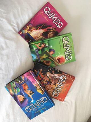 Libros chicos del Olimpo