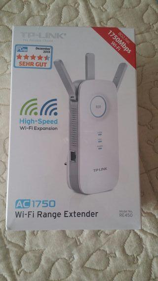 Repetidor de WiFi TP-LINK AC1750Mbps