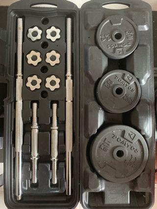 Multiestación, musculación, pesas.