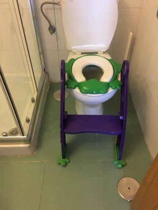 Escalera asiento niños WC