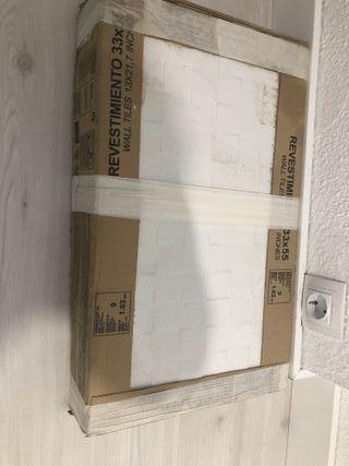 revestimiento ceramico de pared Blanco kubik (1)