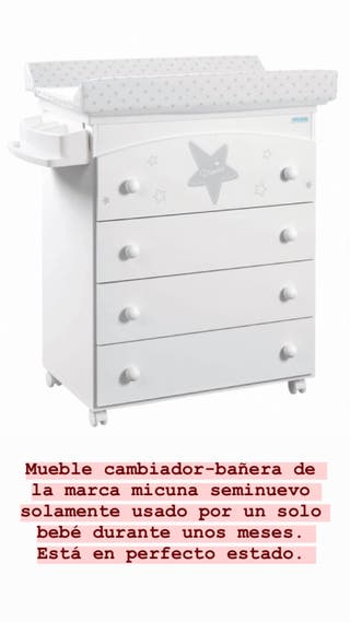 Mueble cambiador micuna