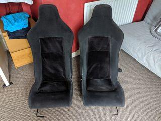 Lotus Elise Seats with Mazda MX-5 runners