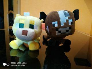 Muñecos peluche Minecraft