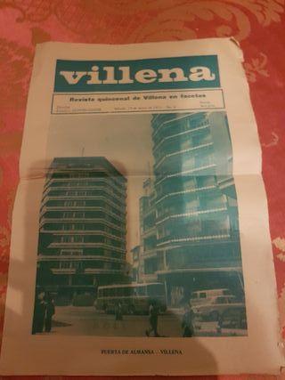 Anhiguo periodico de Villena año 1973