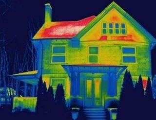 Inspección Cámara térmica con dron