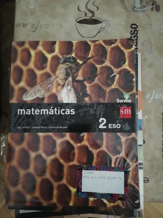 libro matemáticas 2 Eso