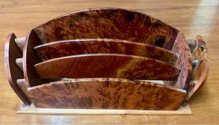 Conjunto de escritorio madera de cedro