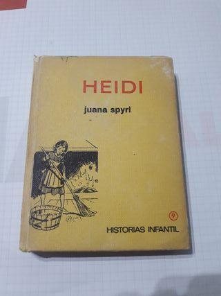 Heidi. Libro antiguo. Historias infantil