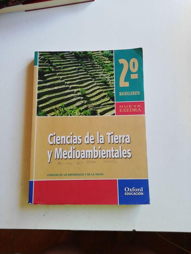 libro ciencias de la tierra y medioambiente