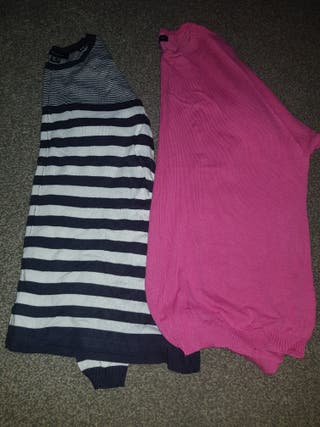 2 lovely ladies jumpers size 10.