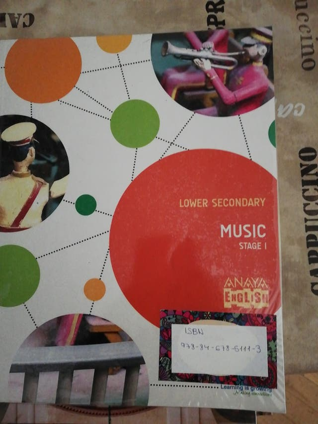 libro de Música 2 eso. En inglés