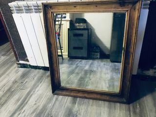 Espejos rústicos madera
