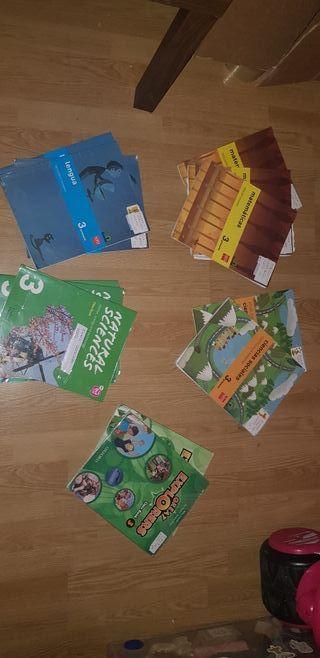 libros escolares 3 primaria