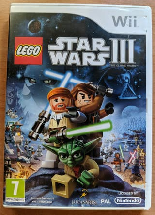 LEGO Star Wars Episodio III WII PAL España