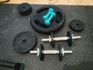 Gimnasio completo (~100kg)