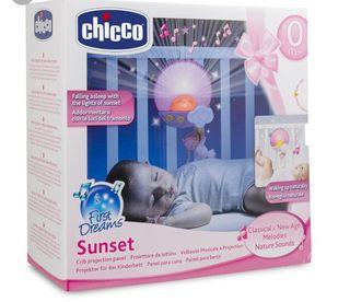 Proyector luz estrellas+música Sunset Chicco bebé