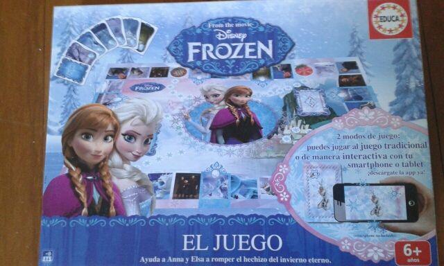 Juego Frozen 6 años