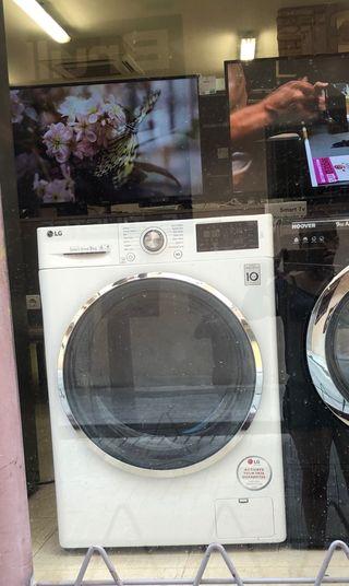 Lavadora LG 9 kilos inverter nueva con tara