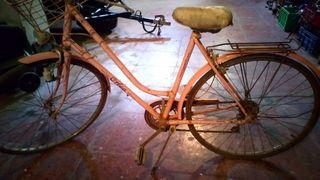 bicicleta antigua orbea mujer