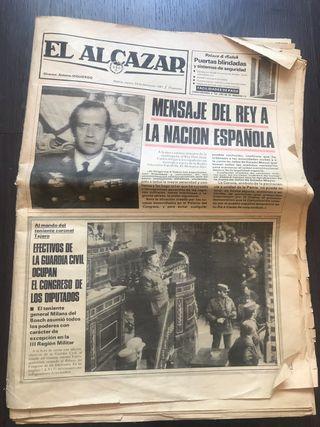 Periódico El Alcazar del 24 de febrero de 1981