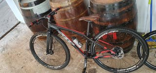 bicicleta de montaña de mujer talla s