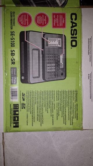 caja registradora Casio s100