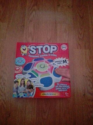 juego stop