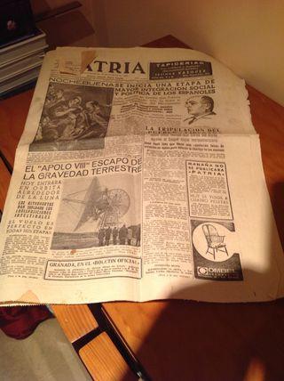 Periodico Patria, 24-12-1968