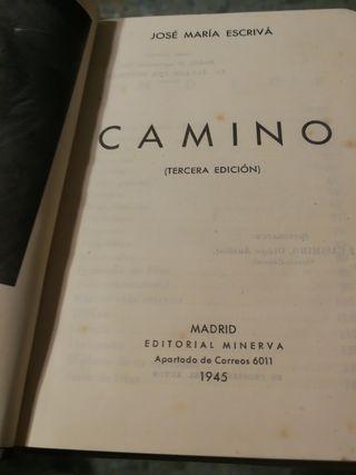 """Libro """"Camino"""""""