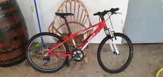 bicleta de montaña para niño o niña