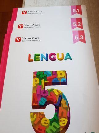 Lengua 5° Primaria Vicens Vives ISBN 9788468214566
