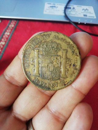 moneda de 5 pesitas
