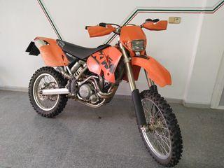 KTM exc 450 2002 averiada