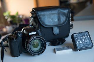 Cámara semiprofesional Nikon Coolpix P510