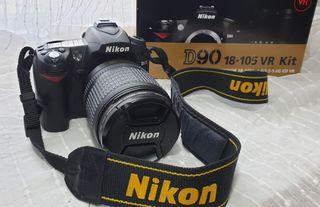KIT NIKON D90 18-105 VR