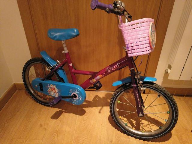 """Bicicleta niña 16"""""""