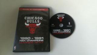 DVD Chicago Bulls NBA 1990, edición coleccionista.