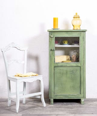 Mueble Auxiliar Antiguo Restaurado Combarro