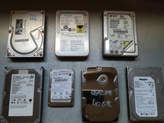 Lote de discos duros internos IDE