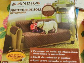 "Protector sofá ""Andra"", reversible."